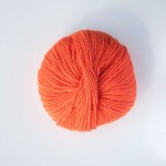 Alpaca double knit orange